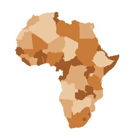 Africa map Stock Vector - 26048892