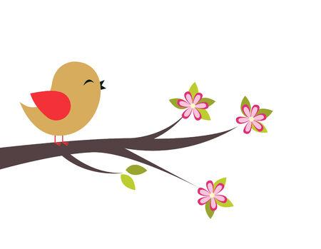 tweeting: Abstract Bird