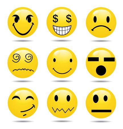 Vector Smile Icon Set