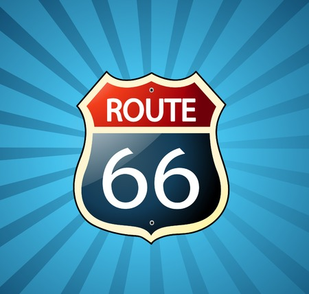 66: Route 66 sign
