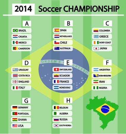 bandera de costa rica: Torneo de Fútbol Vectores