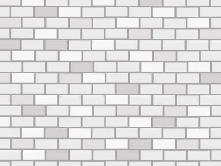 brick wall background: vector brick wall background Illustration