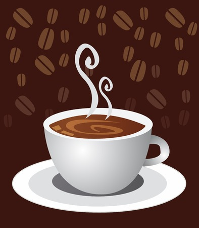 comfort food: icon of coffee cup