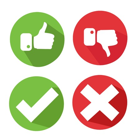 vector check mark icons Stock Vector - 44237882