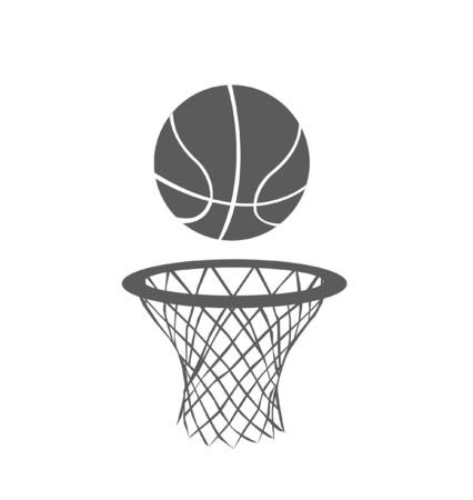 Basketbal, vector Stock Illustratie