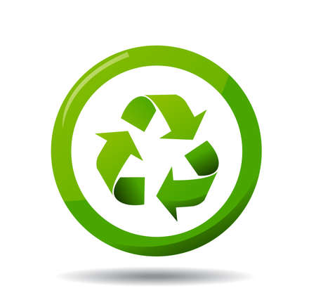 earth pollution: Recycle Icon