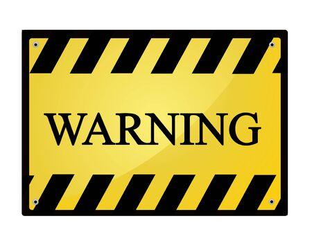 sign road: warning sign