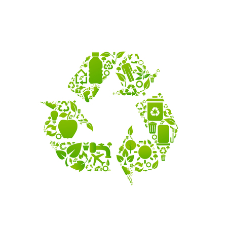 recycling symbols: recycle signs