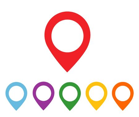 satined: mapping pins icon