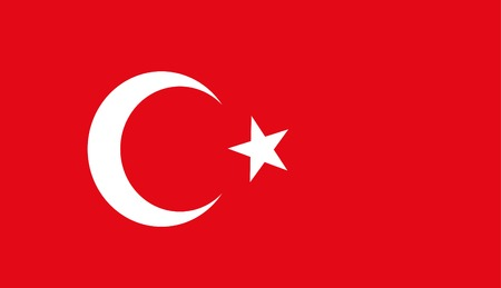 ethnical: background of turkey flag Illustration