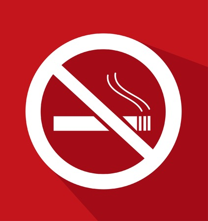 emphysema: No Smoking Sign illustration