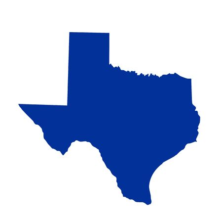 symbolical: Texas State Map
