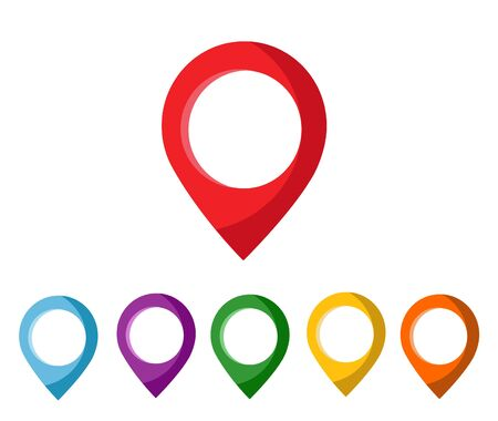 mapping: mapping pins icon