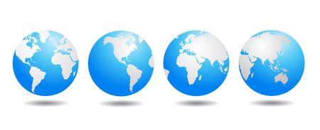 world globe vector Stock fotó - 84360593