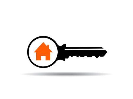 vector illustration of key Illustration