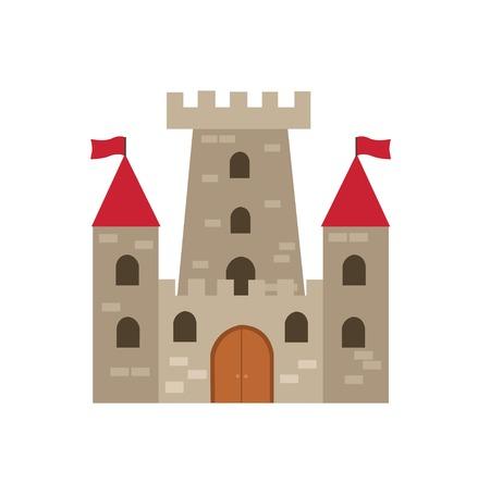Castle vector illustration Illustration