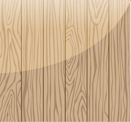 Background of wood grain 矢量图像