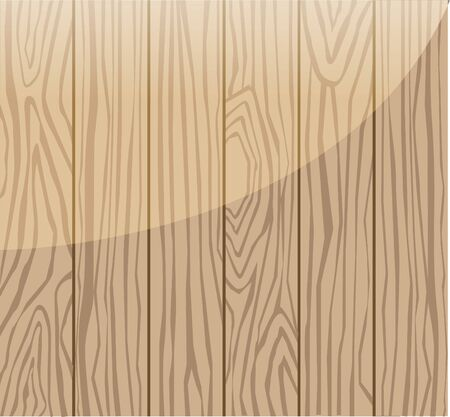 Background of wood grain Illustration