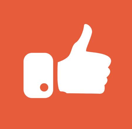Modern Thumbs Up Icons Фото со стока - 102215888