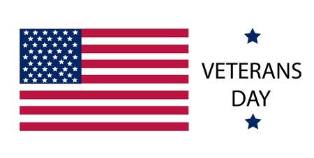 Veterans day vector illustration