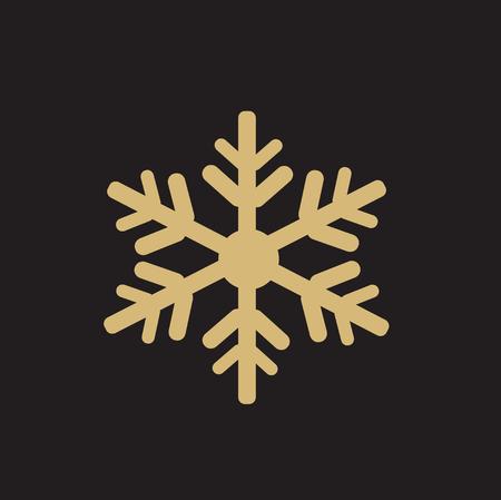 snowflake vector illustration art Stock Illustratie