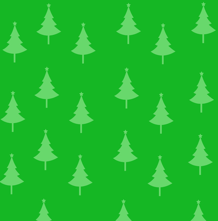Abstract christmas trees vector illustration with colored background Stockfoto - 121667425