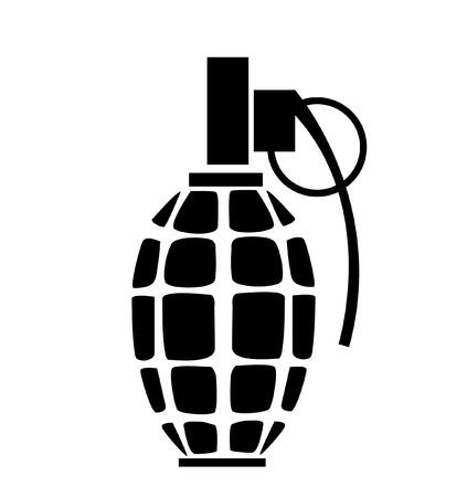 grenade icon vector