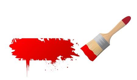 pain brush vector sign Stockfoto - 121667452