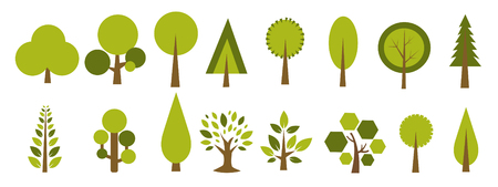 Trees Icon vector illustration Stockfoto - 121667460
