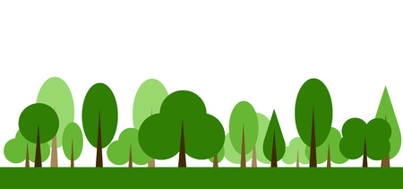 Trees Icon vector illustration Stockfoto - 121667462