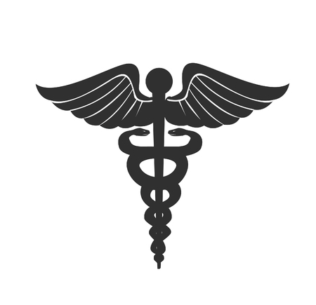 Ilustración de vector de signo médico Ilustración de vector