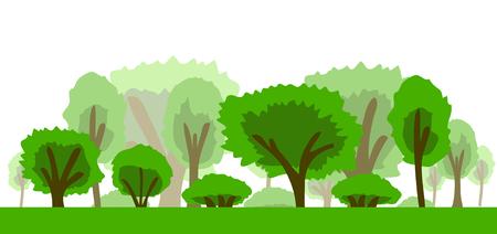 Trees Icon vector illustration Stock Illustratie