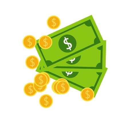 Money Icon vector illustration