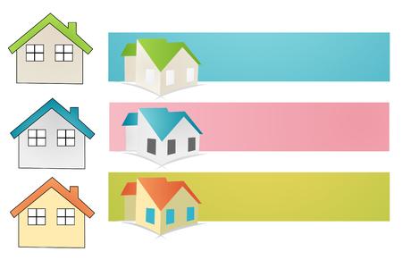 house vector illustration on white