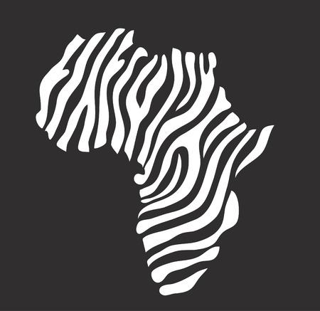 Africa map vector illustration Stockfoto - 121667489
