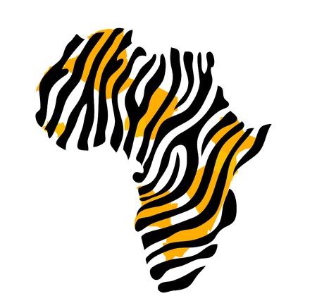 Africa map vector illustration Stockfoto - 122902577