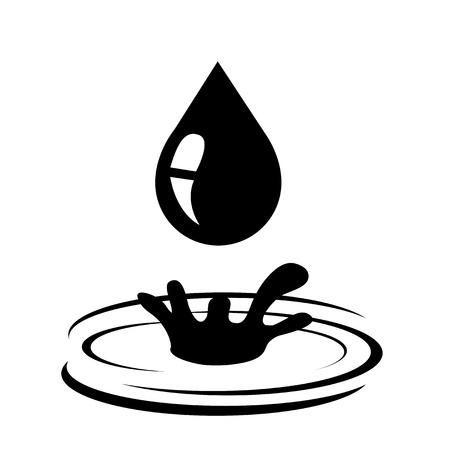 Oil icon vector illustration on white background