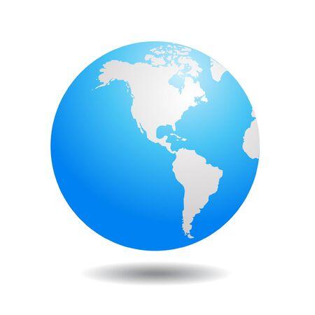 world globe illustration 向量圖像