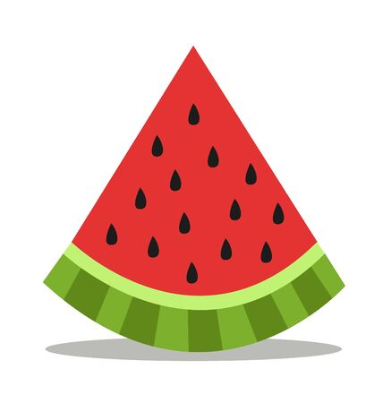 Watermelon icon vector illustration