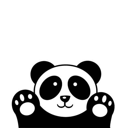 Cute animal panda design