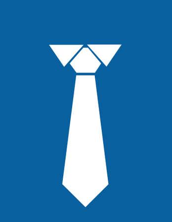 necktie icon vector illustration