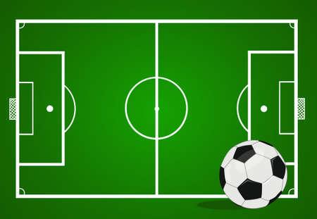 vector soccer ball illustration
