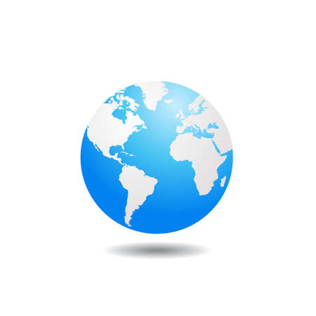 world globe vector illustration 일러스트
