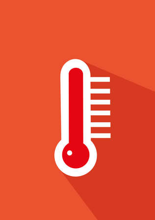 thermometer icon vector illustration