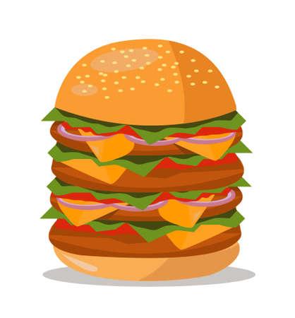 hamburger icon design vector illustration