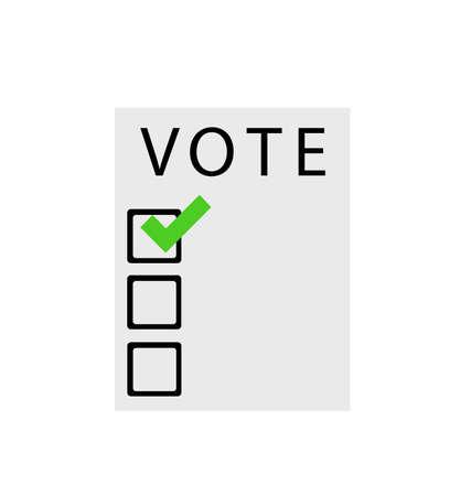 presidential election vector illustration 向量圖像