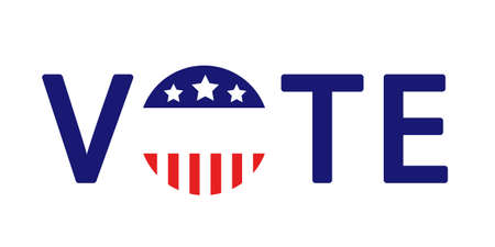 American presidential election badges