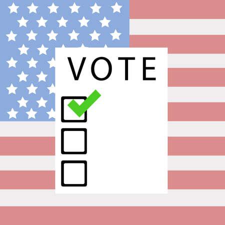 American presidential election vector 向量圖像