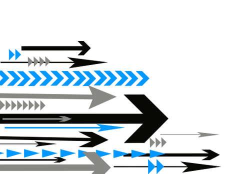 Abstract arrow vector illustration 向量圖像