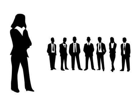 Business people vector illustration